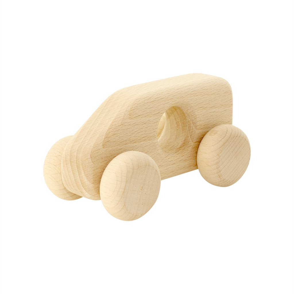 Wooden Toy Van - Dimple and Dot