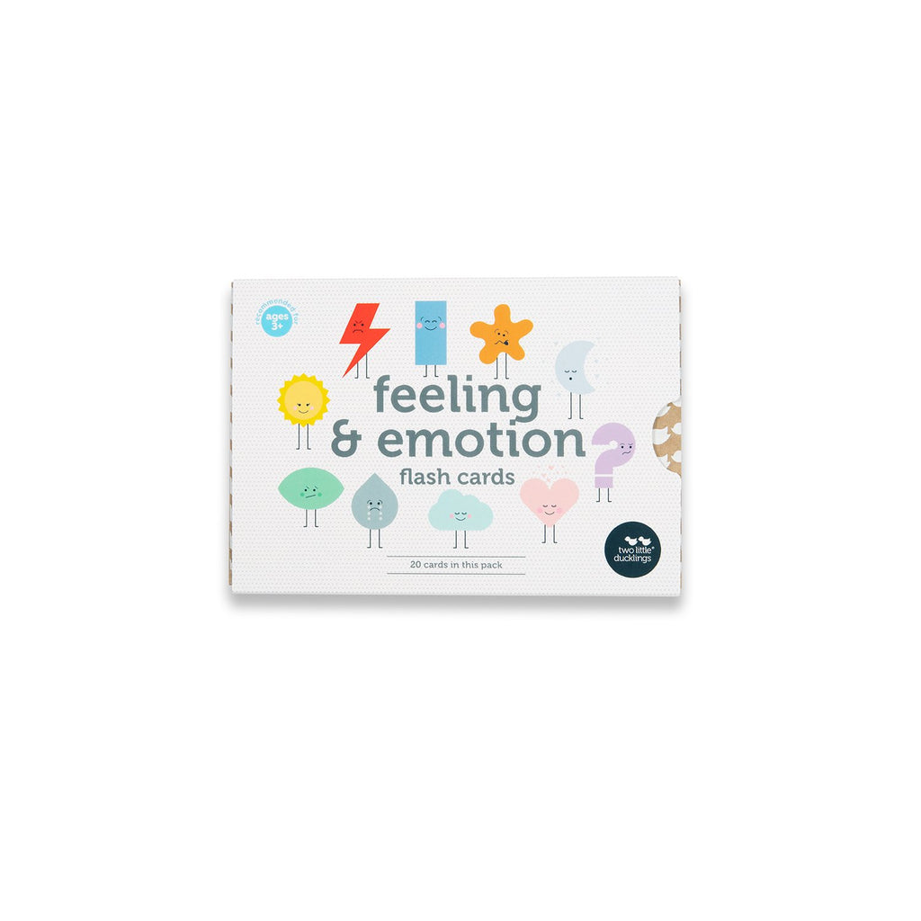 Feeling and Emotion Flash Cards - Dimple and Dot