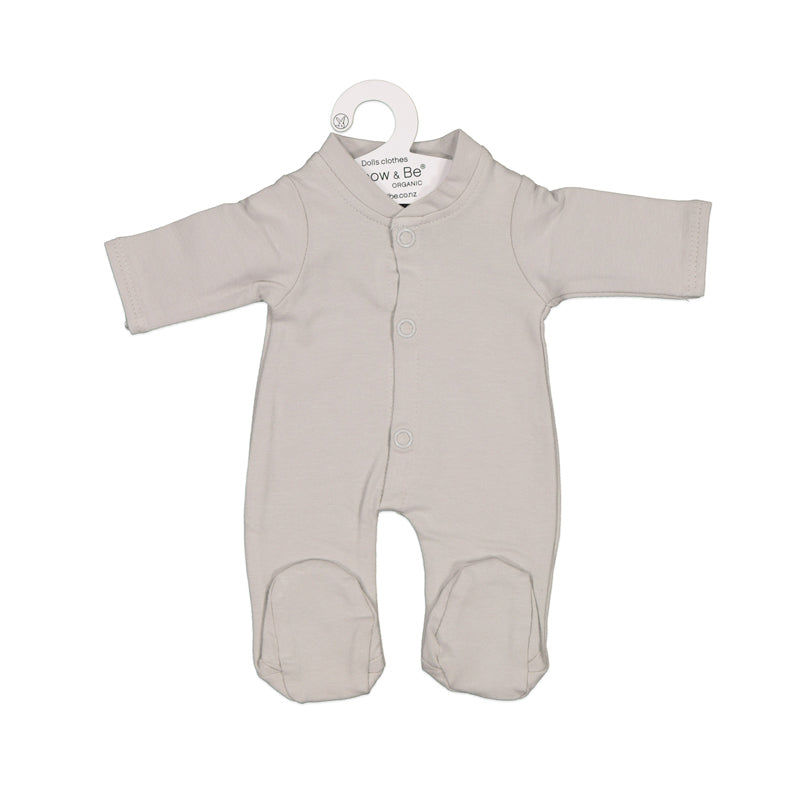Grey Sleep Suit for 38cm Doll - Dimple and Dot