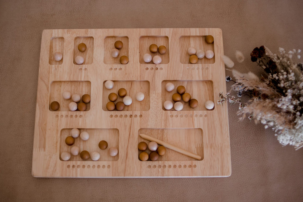 Double Sided Counting Board - Dimple and Dot
