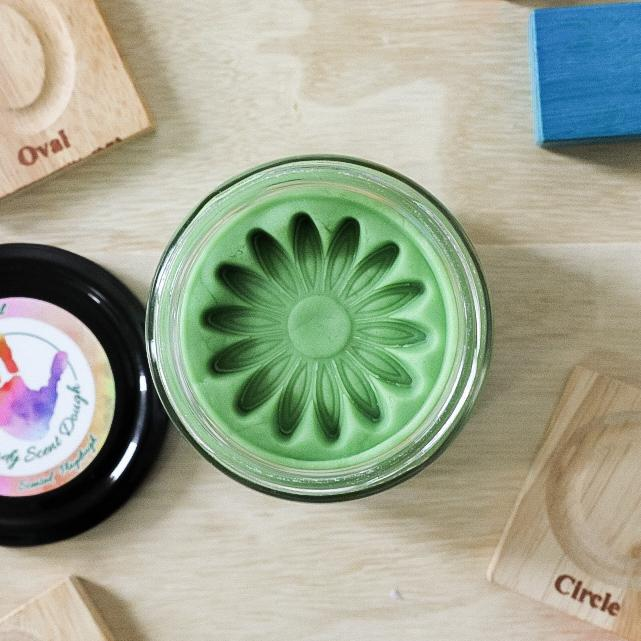 Mint Playdough - Dimple and Dot
