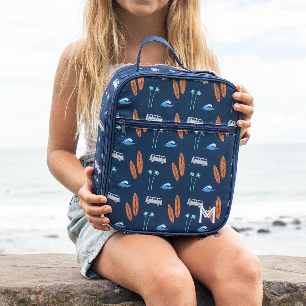 Insulated Lunch Bag - Surf's Up - Dimple and Dot
