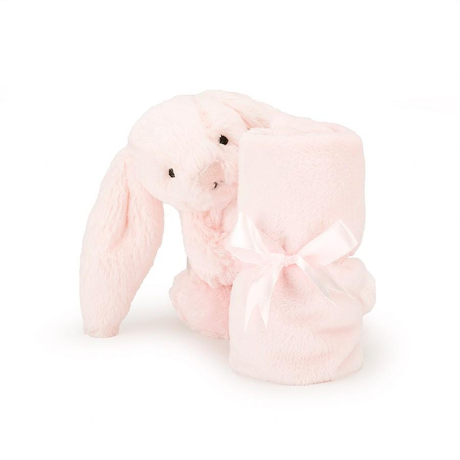 Jellycat Bashful Pink Bunny Soother/Comforter - Dimple and Dot
