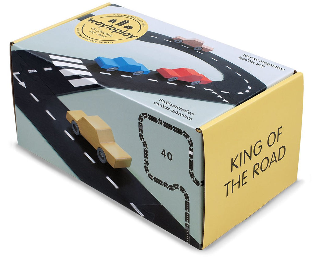 WaytoPlay King of the Road - 40 pieces - Dimple and Dot