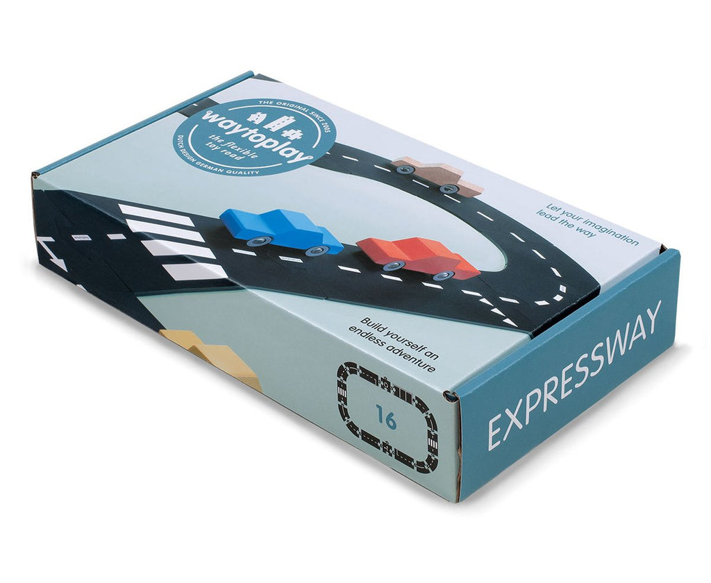 WaytoPlay Expressway - 16 pieces - Dimple and Dot