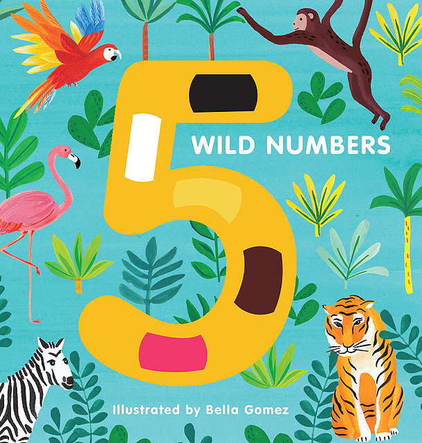 Book: 5 Wild Numbers - Dimple and Dot