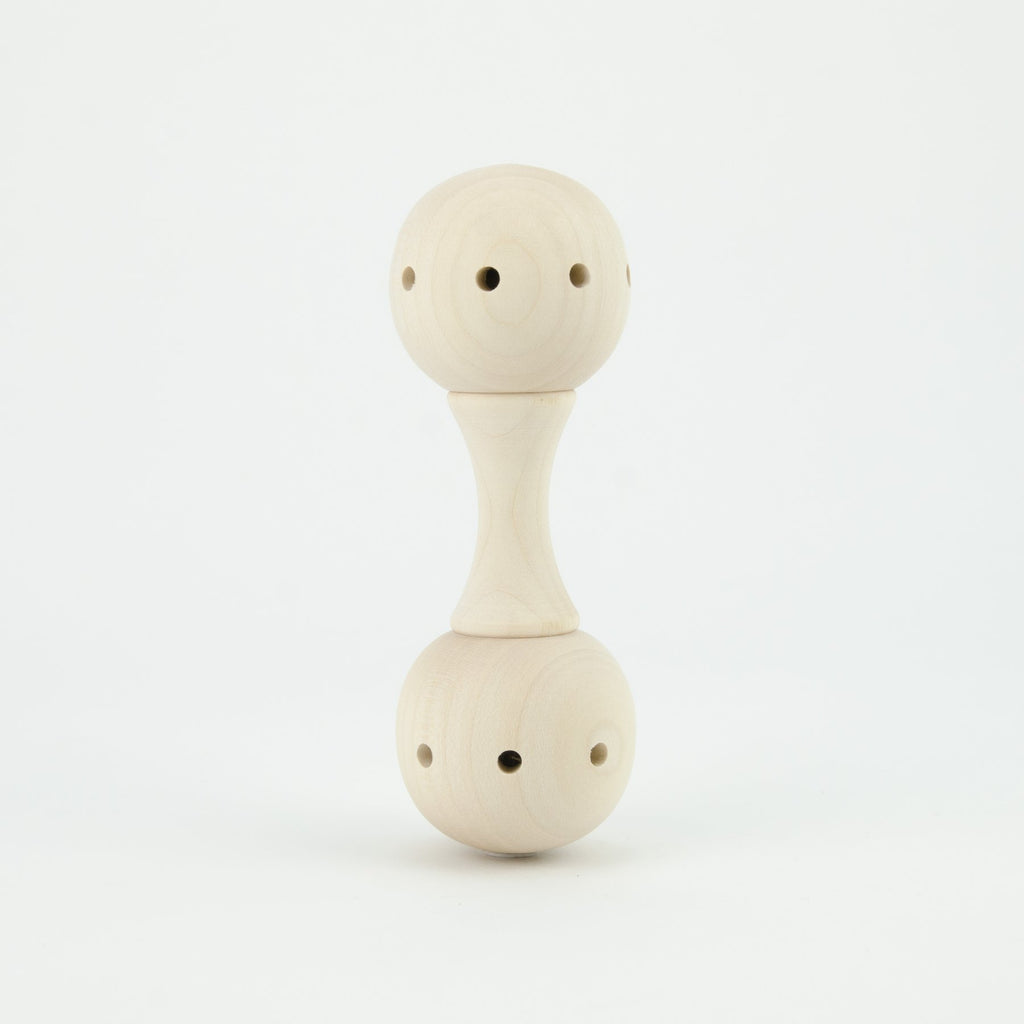Mader Baby Rattle - Dimple and Dot