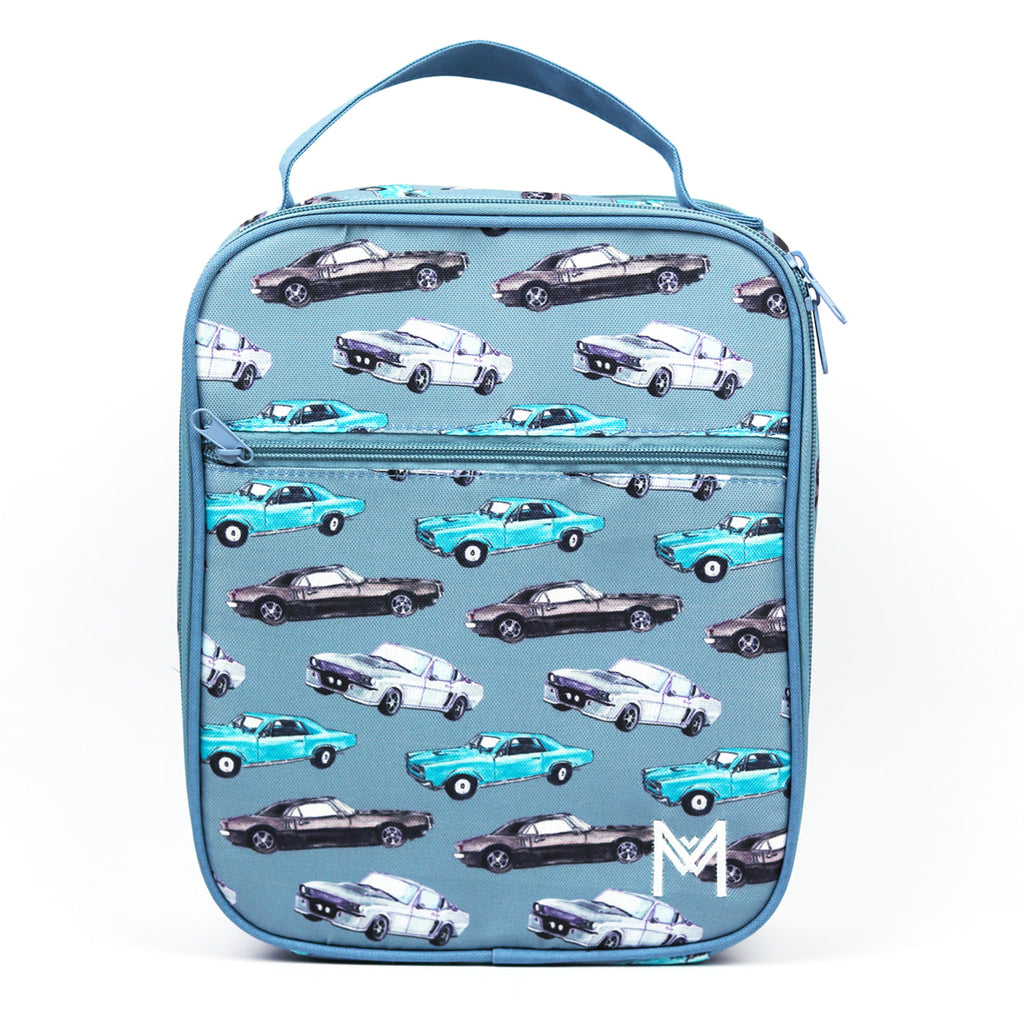 Insulated Lunch Bag - Cars - Dimple and Dot