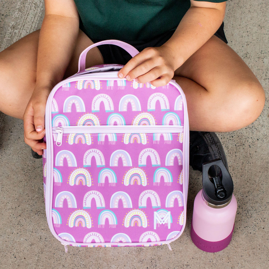Insulated Lunch Bag - Chasing Rainbows - Dimple and Dot
