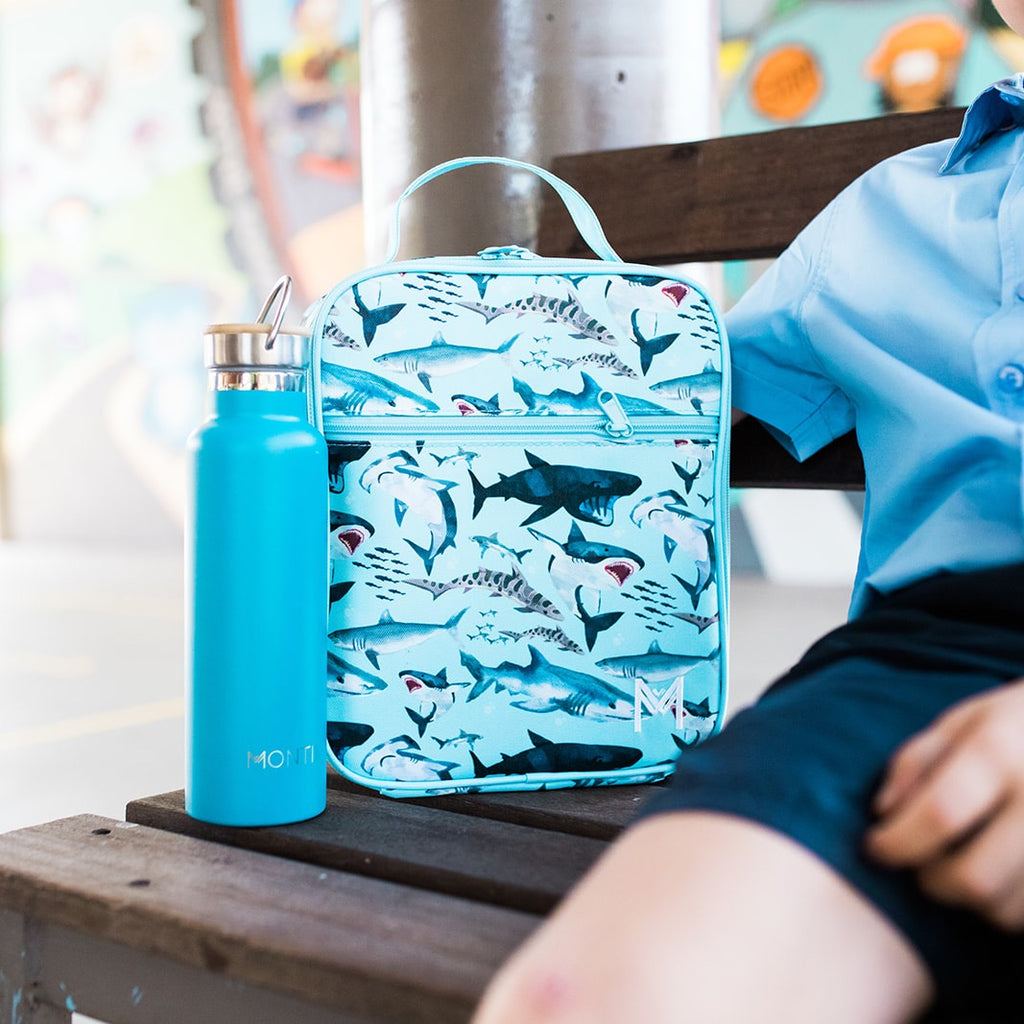 Insulated Lunch Bag - Shark - Dimple and Dot