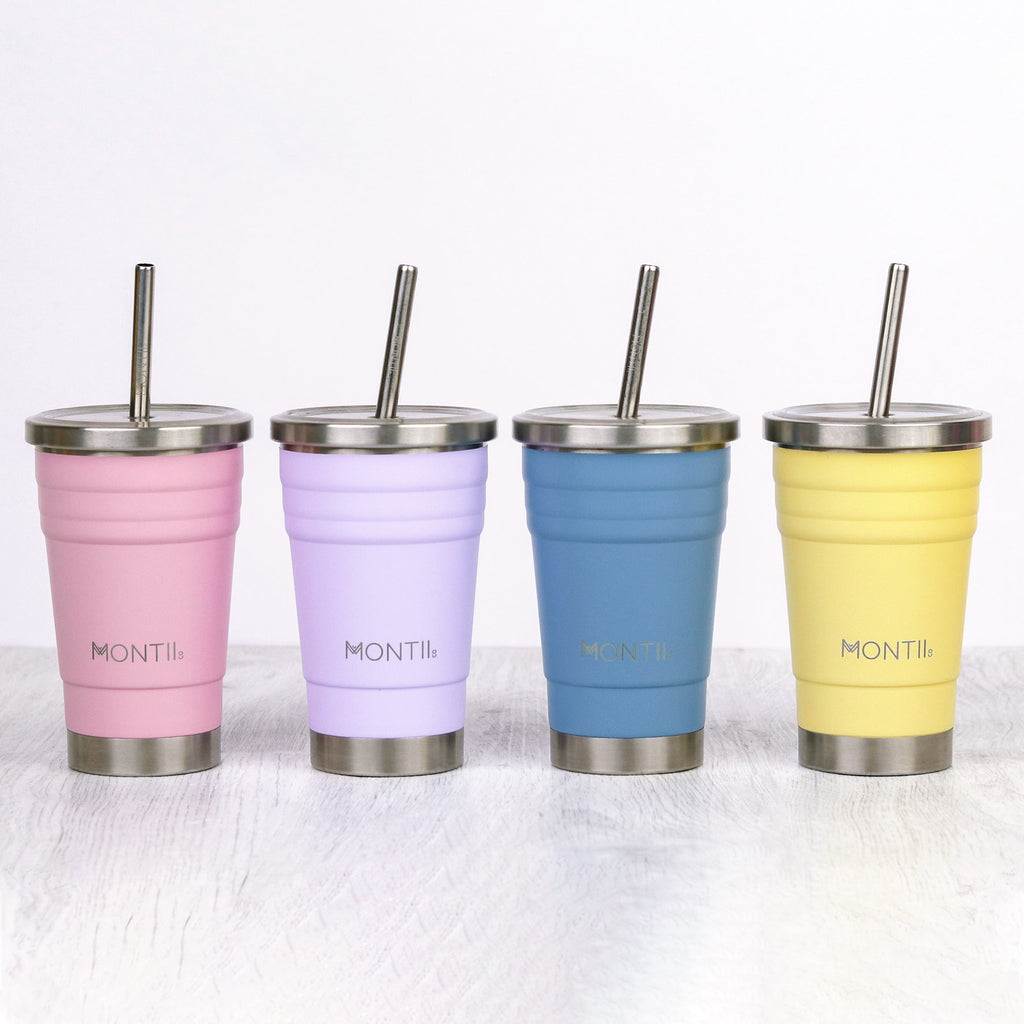 Mini Smoothie Cup - Slate - Dimple and Dot