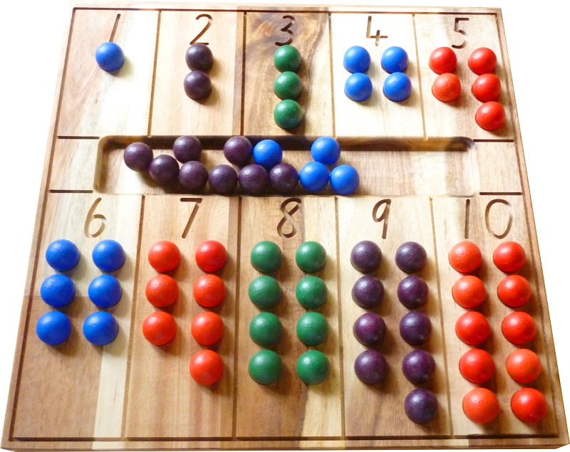 Natural Counting Board - Dimple and Dot