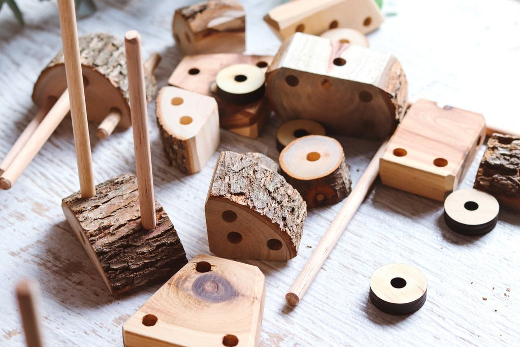 Sticks and Blocks Building Kit - Dimple and Dot