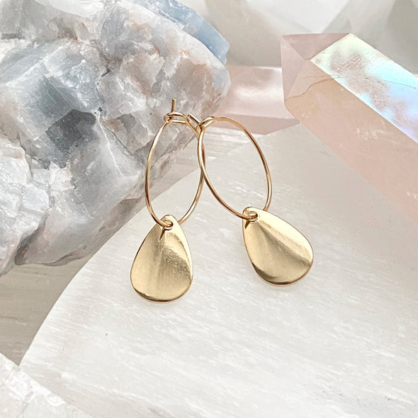 Livy Tear Drop Hoops