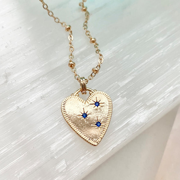 Leah Heart Necklace