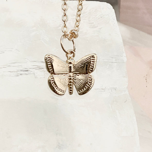 Melody Mini Butterfly Necklace