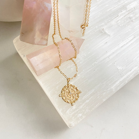 Ananya Medallion Necklace