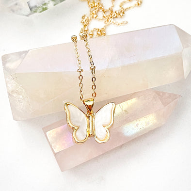 Amalia Butterfly Necklace