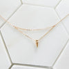 Thelma Layered Spike Necklace