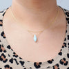 Carolina Layered Teardrop Necklace