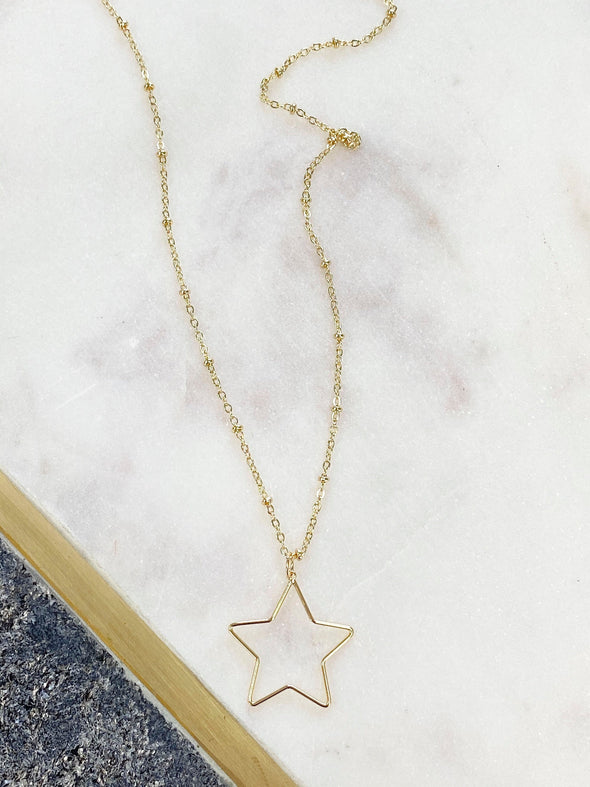 You Are My Shining Star Necklace