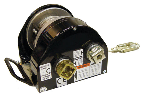 SALA Advanced digital 200 series power drive winch - 42mtrs stainless cable - SALE