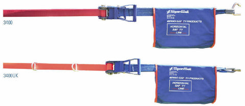 Static line 2 person horizontal Spanset 3400K