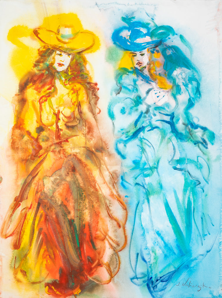 Jan Naliwajko - Two Ladies In Colours