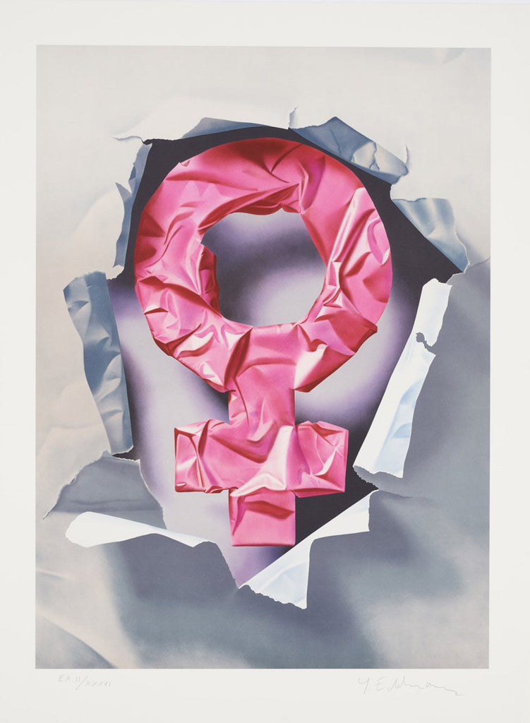 Yrjö Edelmann - Female power wrapped in pink