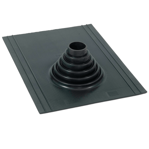 Roof flashing for tarred/tiled roof Ø75-110 mm