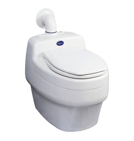 Urine separating toilet Villa 9000 230V