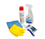 Cleaning Kit for Urine separating toilets