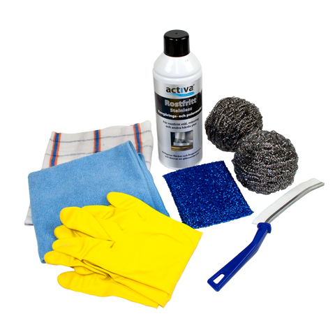 Cleaning Kit for Incinerating Toilets