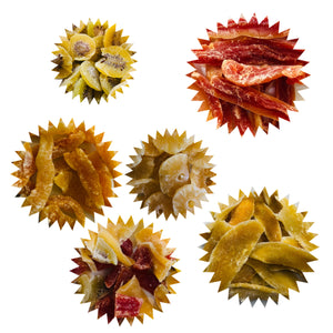 Dried Fruit Sampler, A Set of 6 Packages