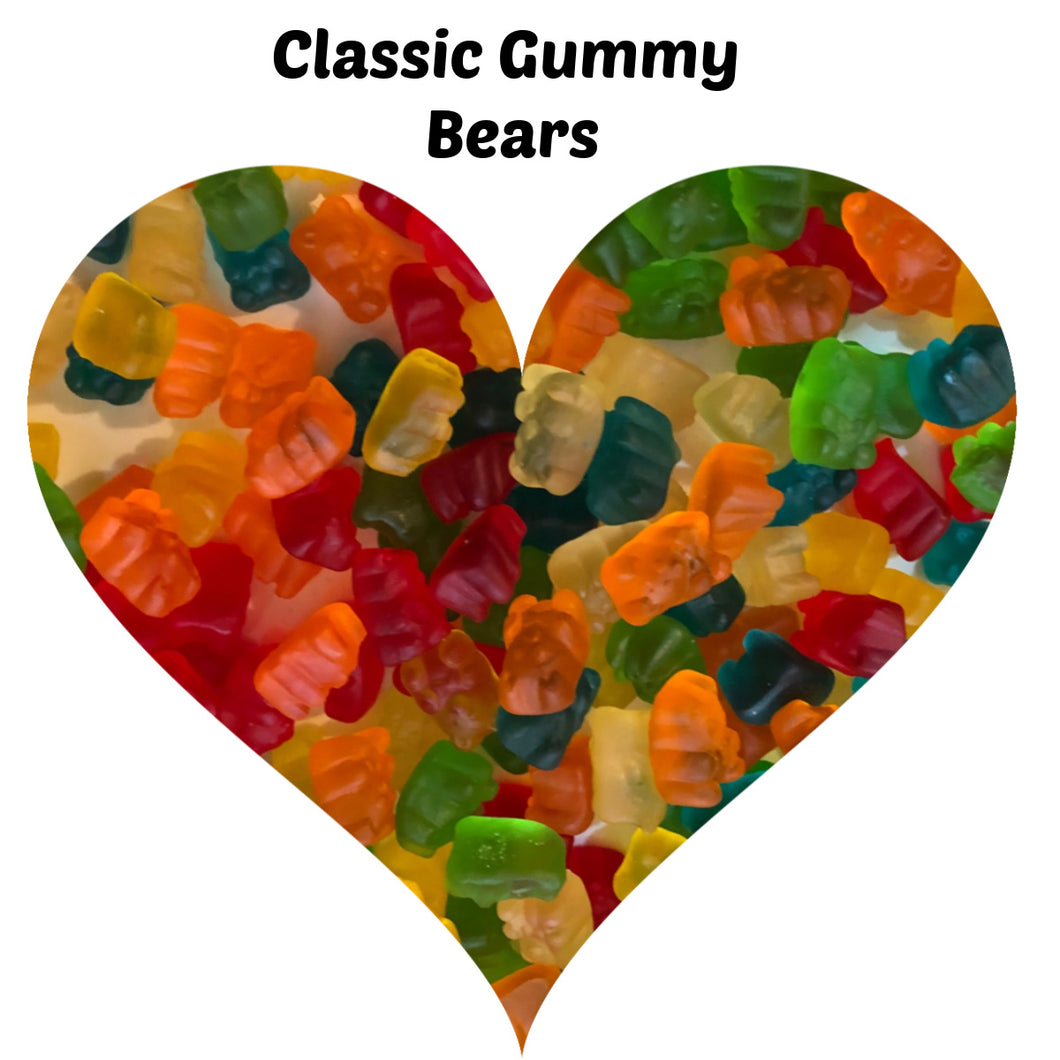 Gummy Candy Sold in Sets of 4 - 11 oz Resealable Packages