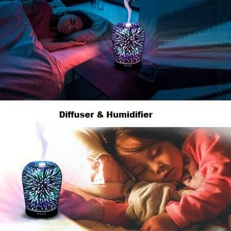 Snowing Deals - Aromatherapy Diffuser - Relaxed Sleep