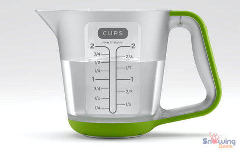 Snowing Deals - Digital Measuring Cup - Side Picture