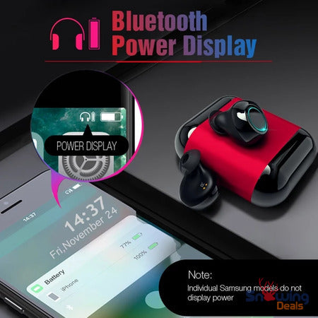 The Best Deals Online - Best In Ear Bluetooth Headphones - Power Display