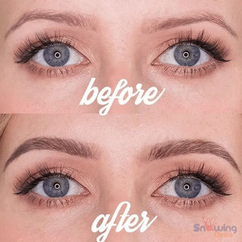 The Best Deals Online - Microblading Eyebrow Pencil - Before After