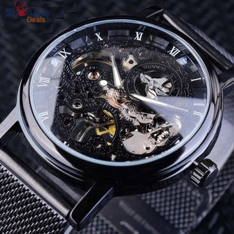 The Best Deals Online - Skeleton Watch For Men - Display Image