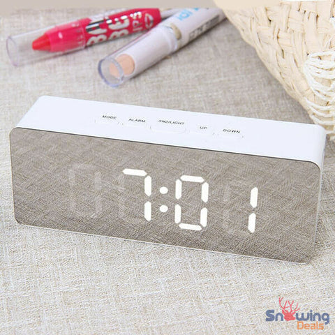 The Best Deals Online - Wake Up Alarm Clock - Rectangle