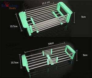 Dish Drying Rack with Drainer - Size Specification