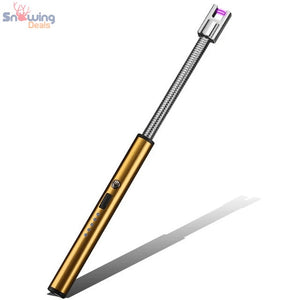 Snowing Deals - Flexible Electric USB Lighter - Ice Gold
