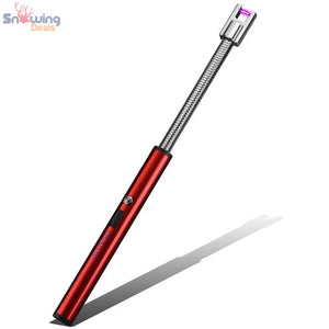 Snowing Deals - Flexible Electric USB Lighter - Ice Red