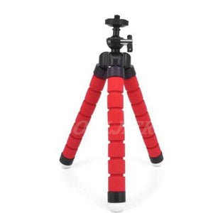 Snowing Deals - Flexible Mini Tripod - Red Color