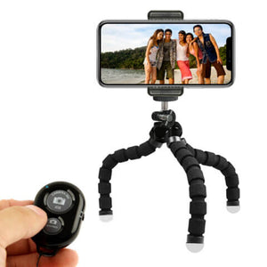 Snowing Deals - Flexible Mini Tripod - With Remote