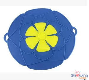 Snowing Deals - Multipurpose Lid Cover & Spill Stopper - Blue 2