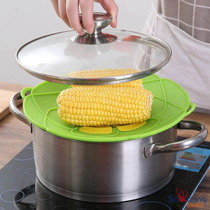 Snowing Deals - Multipurpose Lid Cover & Spill Stopper - Corn