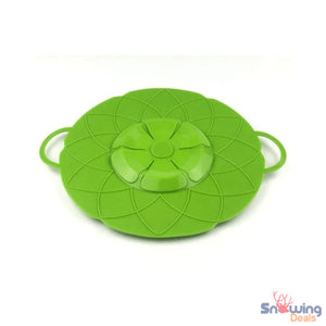 Snowing Deals - Multipurpose Lid Cover & Spill Stopper - Green 1