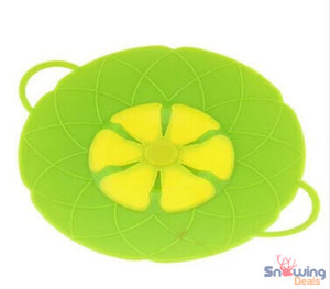 Snowing Deals - Multipurpose Lid Cover & Spill Stopper - Green 2